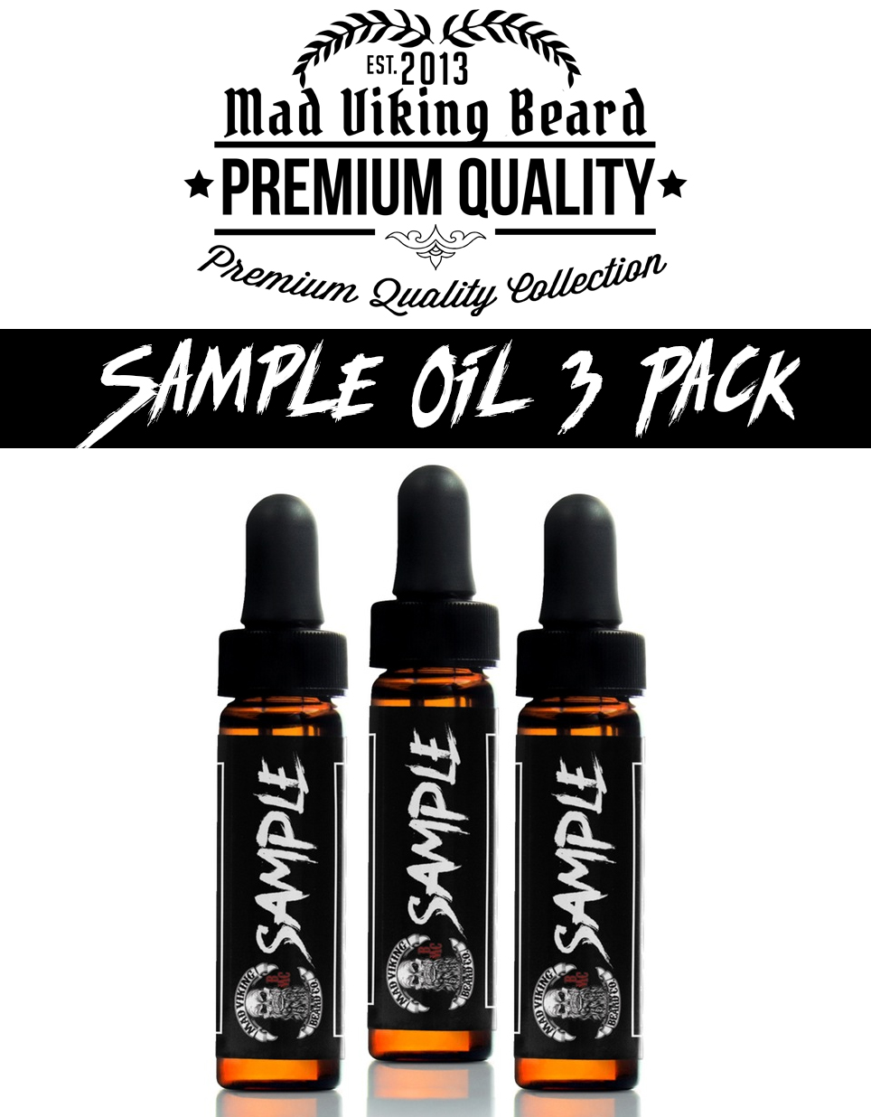 Mad Viking 3 Pack Sample Oils