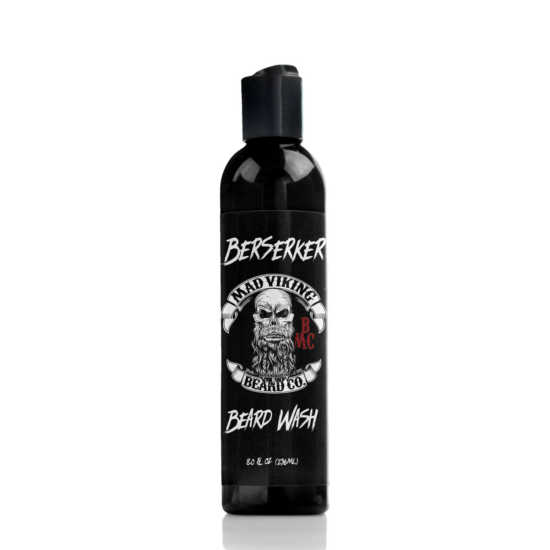 berserker mad viking beard wash 8 ounce bottle