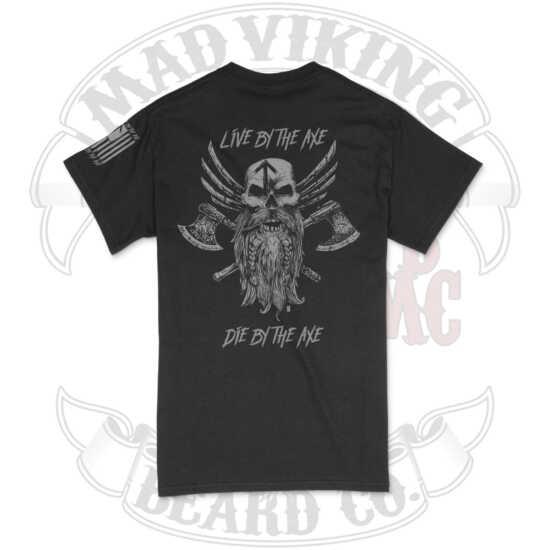 Mad Viking Axes Tee Logo Back