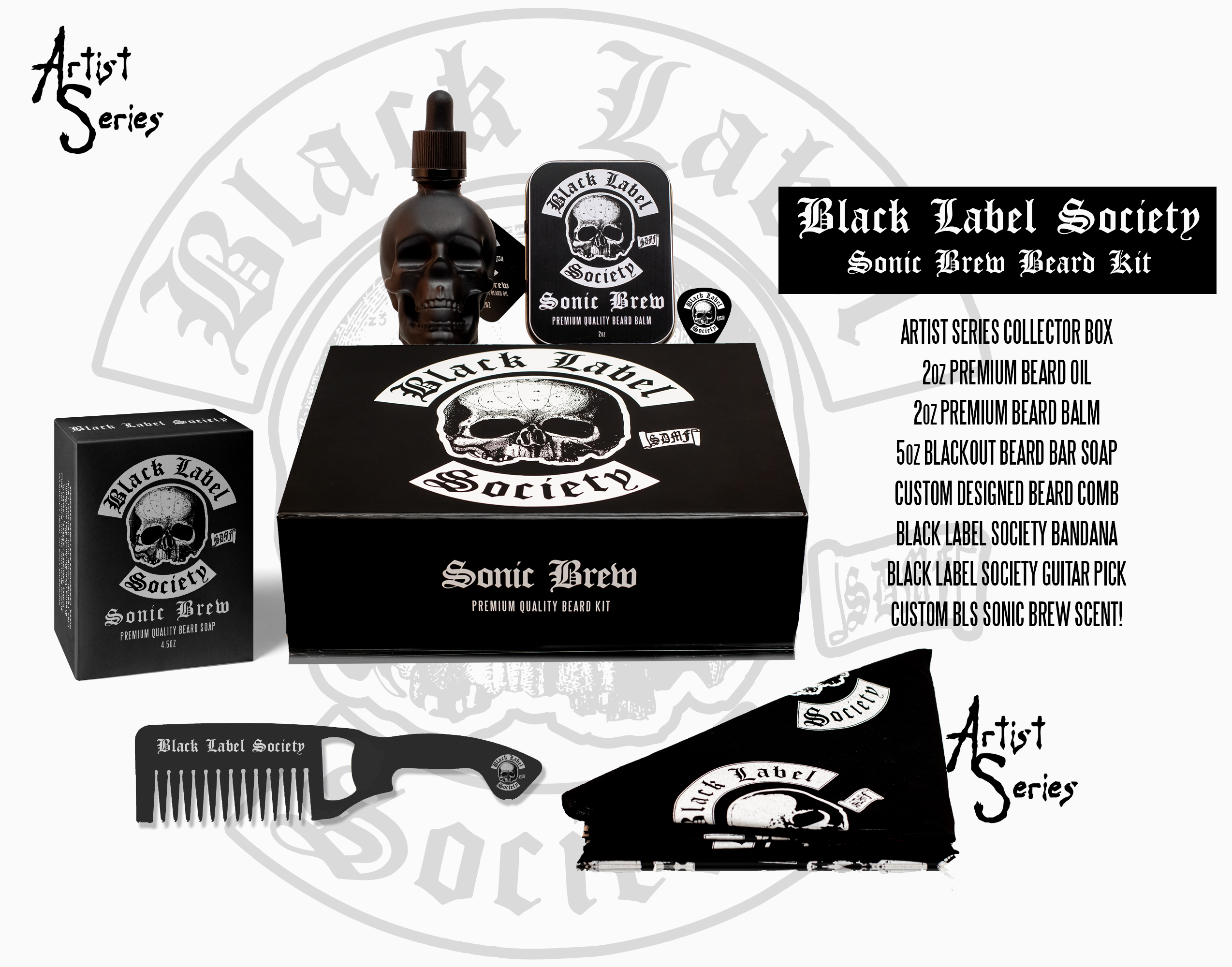 4ba634e2bdb5f Black Label Society Beard Kit (Artist Series) - Mad Viking Beard Co.