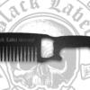 Black Label Society Metal Comb