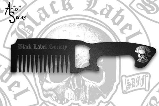 Black Label Society Metal Comb