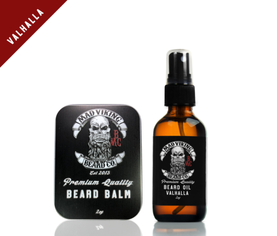 Valhalla Beard Oil & Balm Combo 2oz