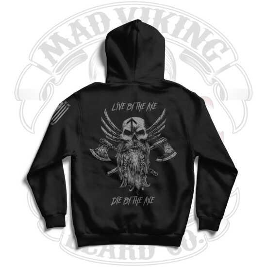 Mad Viking Axes Hoodie Logo Back