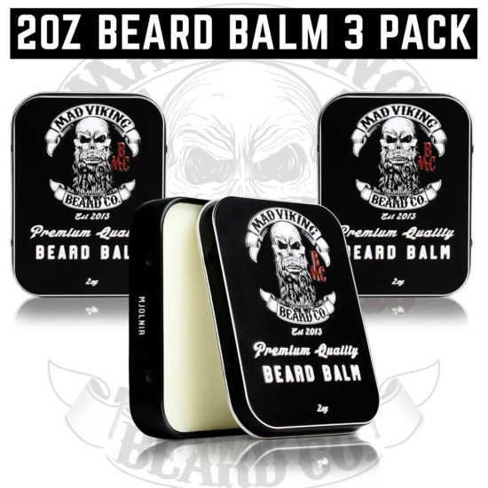 2oz Beard Balm 3 Pack