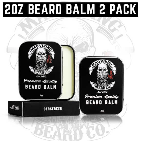 2oz Beard Balm 2 Pack