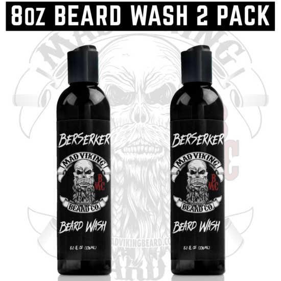 8oz Beard Wash 2 Pack