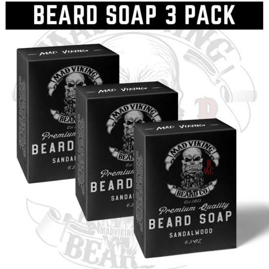 Beard Soap 3 Pack