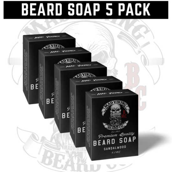 Beard Soap 5 Pack