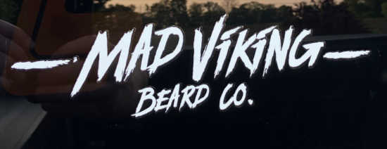 Mad Viking (SCRATCH LOGO) Sticker