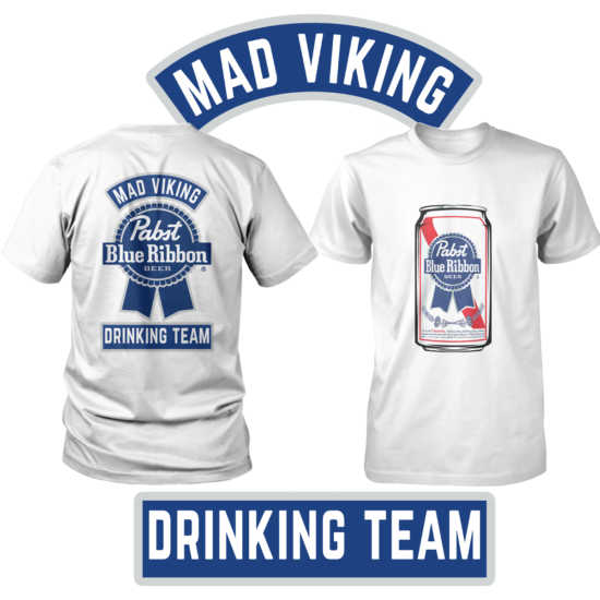 Mad Viking Drinking Team Tee (2nd edition)