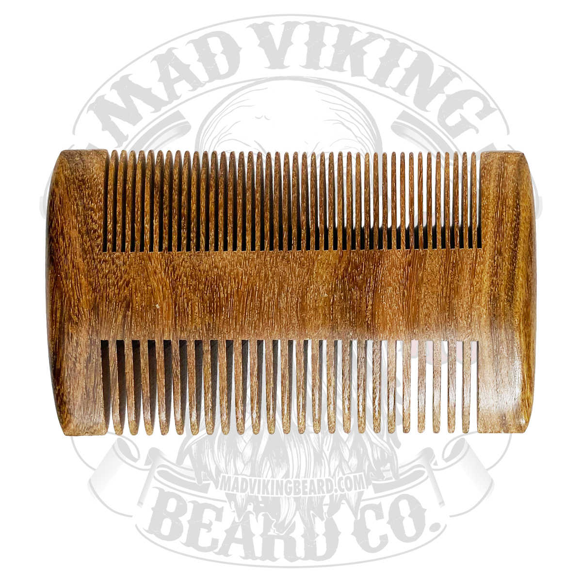 Mad Viking 2 in 1 beard and mustache comb