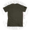 Men's OD Green Tee, plain back