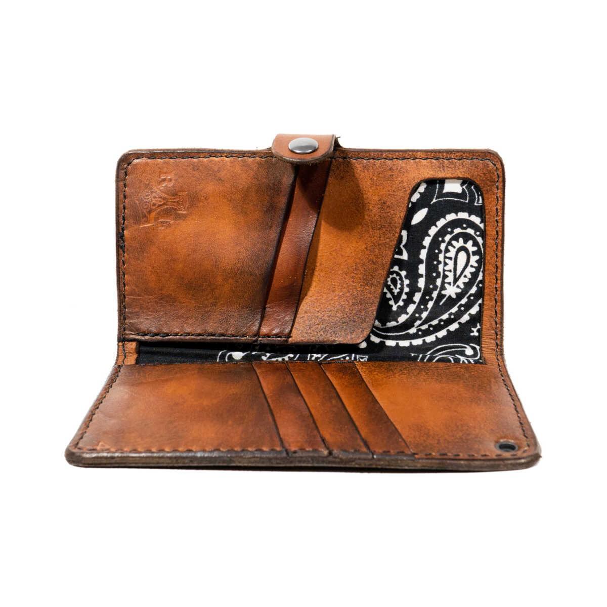 Mad Viking Leather Bi-fold Wallet