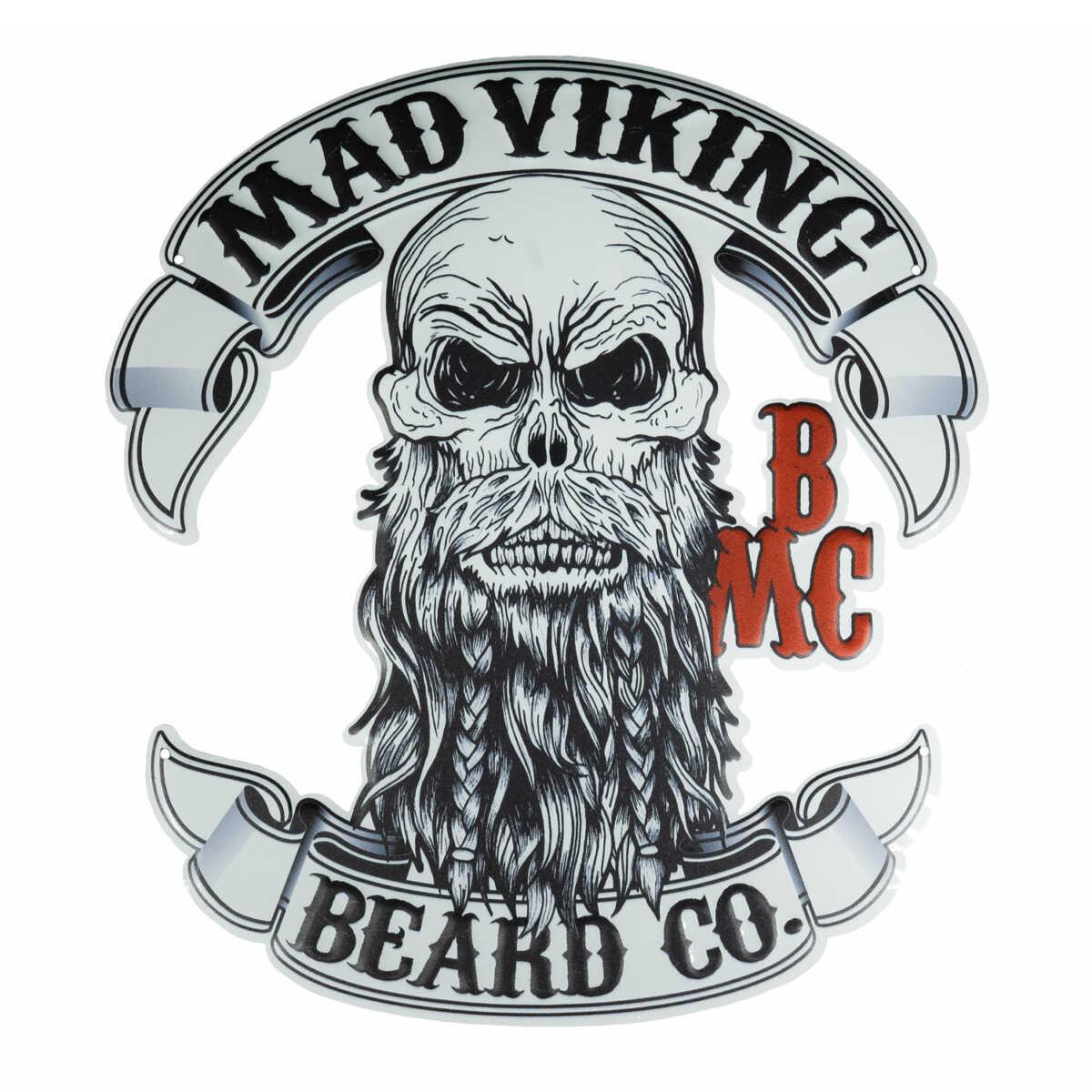 Metal Mad Viking Logo Sign