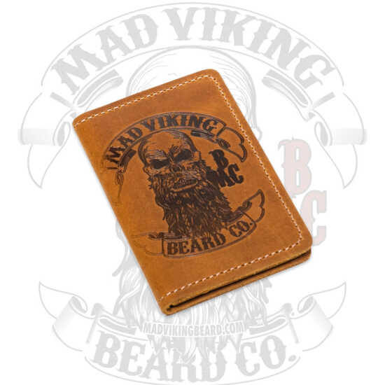 Mad Viking Leather Bi-fold Card Holder