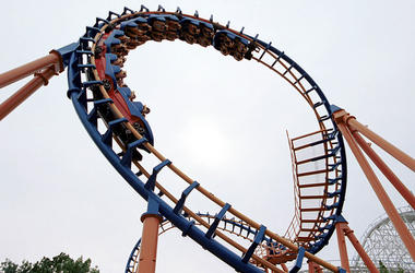 Six Flags Rollercaoster