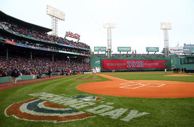 Opening Day Fenway Banner