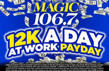 $12K A Day At Work Payday