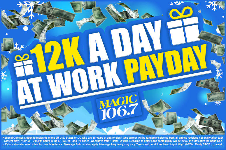 12K A Day At Work Payday Legal