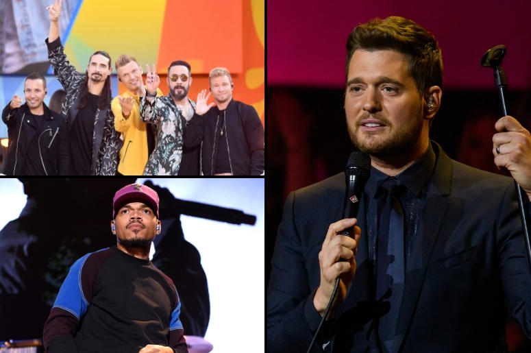 Backstreet Boys x Chance The Rapper x Michael Buble