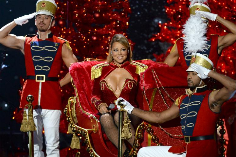 mariah careys all i want for christmas is you reaches top 10 for the first time in history