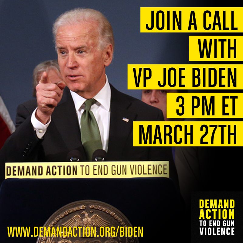 Join a Call with VP Joe Biden