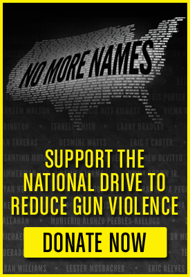 No More Names: The Drive to Reduce Gun Violence