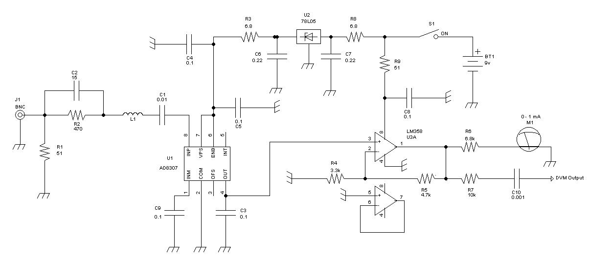 RF Power Meter Project — www HOAGLUN com
