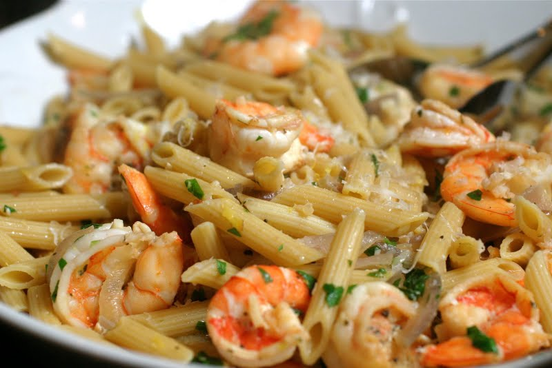 The Italian Dish Posts Last Minute Lemon Shrimp Pasta And A Review Of Chicago S Quince