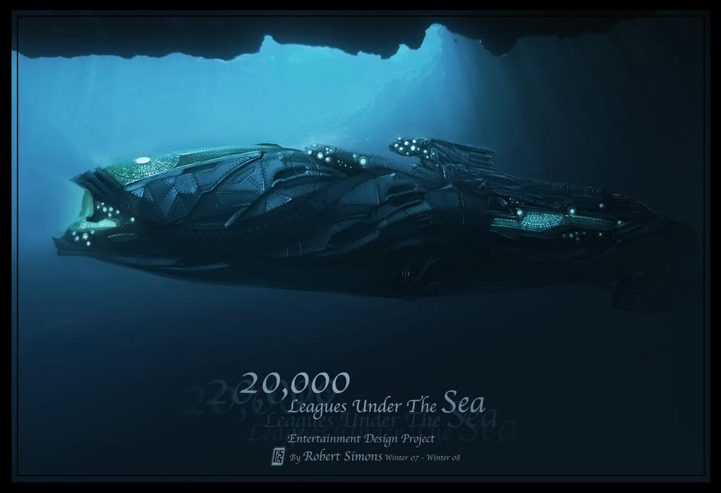 20000 Leagues Under The Sea Concept Art Mcg Should Use For Captain