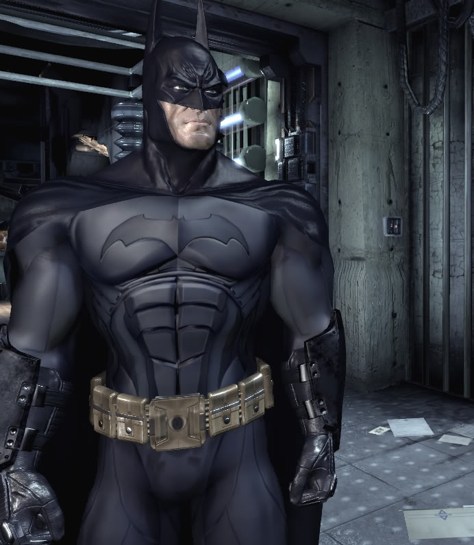 Batman Suit: BATMAN: ARKHAM ASYLUM