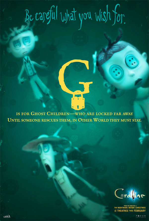 All the 'Coraline' Alphabet Movie Posters — GeekTyrant
