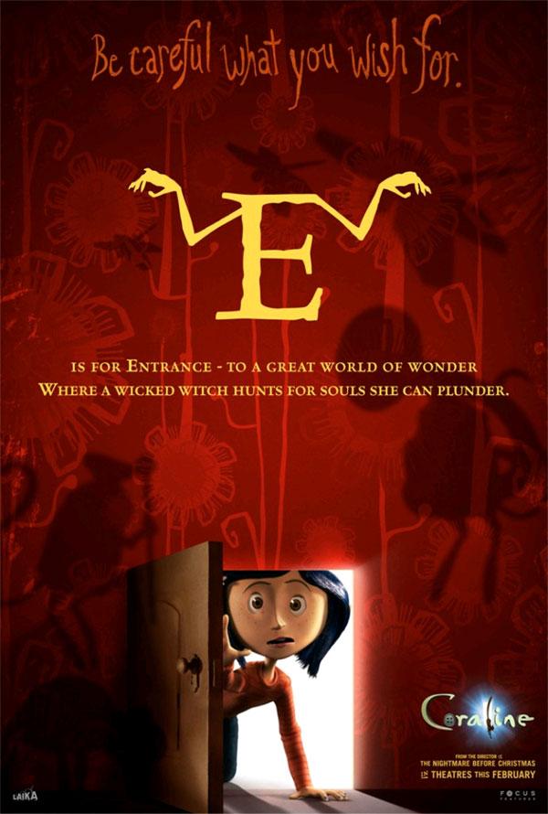 All The  U0026 39 Coraline U0026 39  Alphabet Movie Posters  U2014 Geektyrant