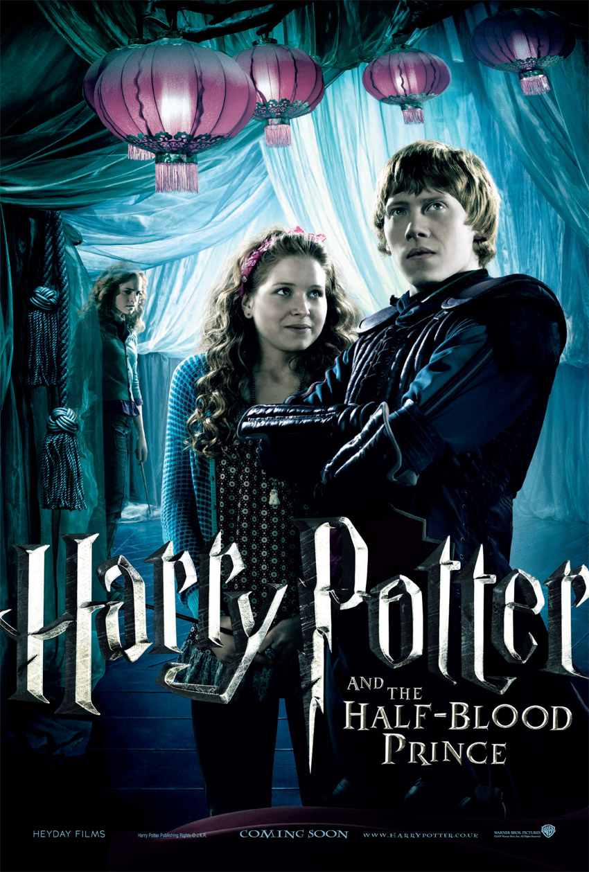 5 New Great Looking HARRY POTTER 6 Posters — GeekTyrant