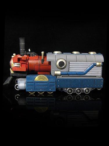 Optimus Prime As A Transforming Train Geektyrant