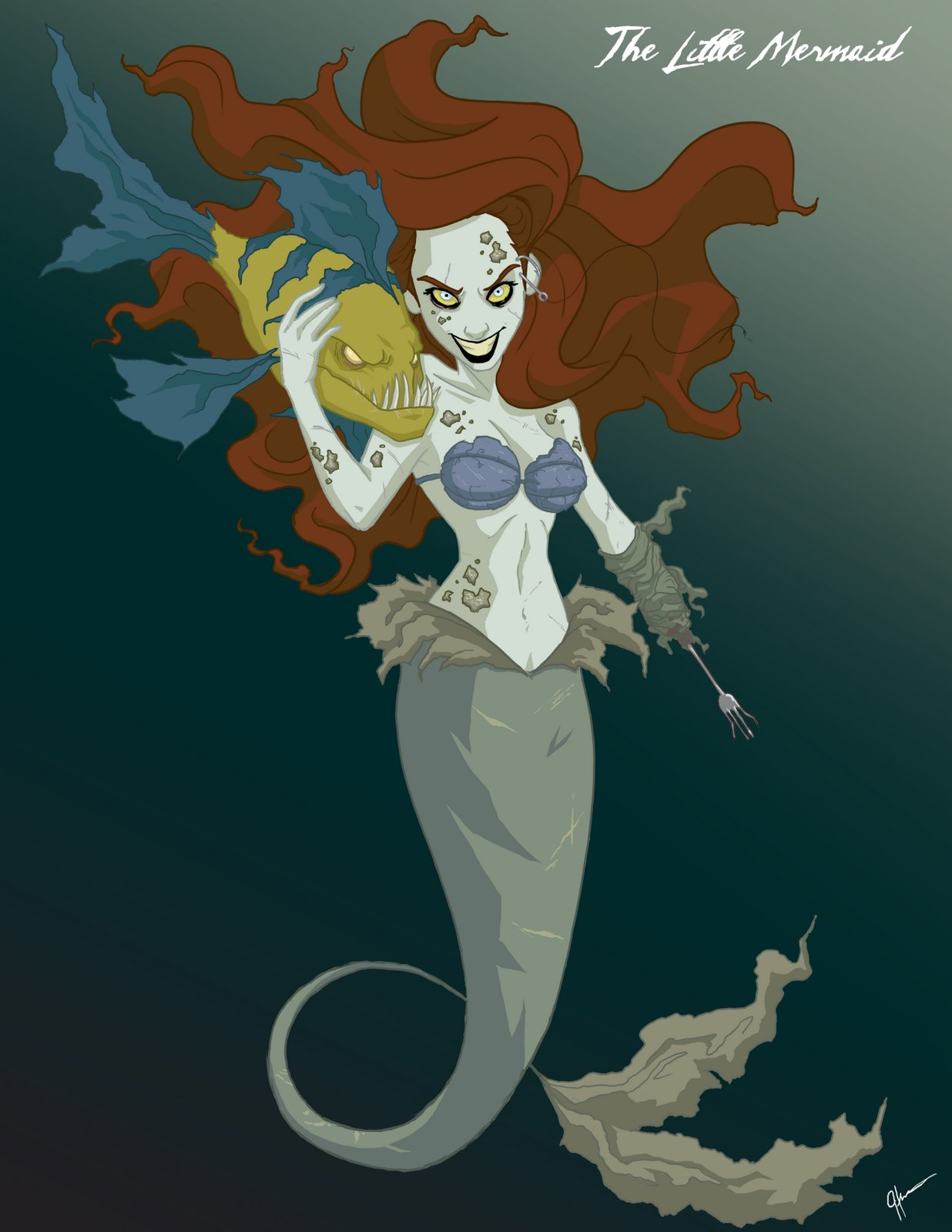 Twisted Disney Princesses art is Awesome! — GeekTyrant