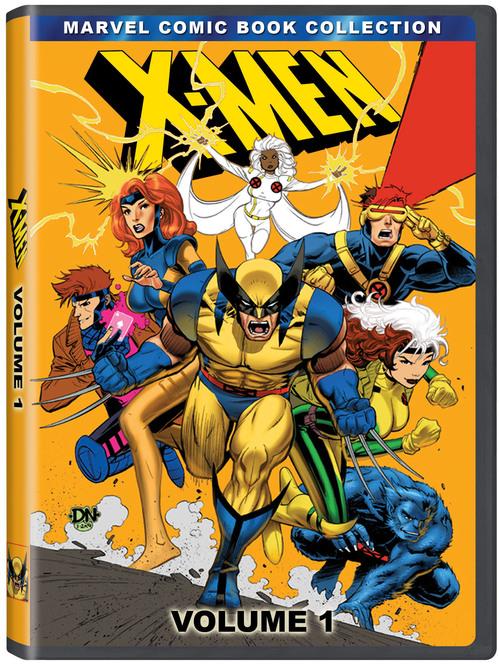 geek tastic com fox s x men cartoon series is finally coming to dvd