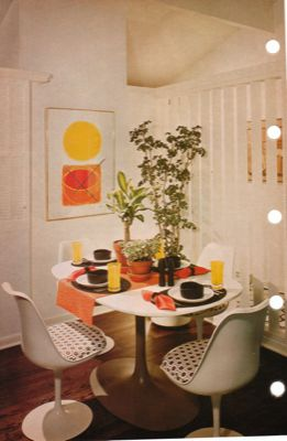 70s-dining-room-pops-of-colors