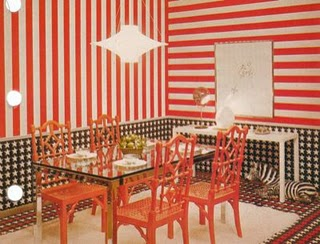 70s-dining-room-red-striped-wallpaper