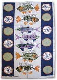 fish-print-tea-towel