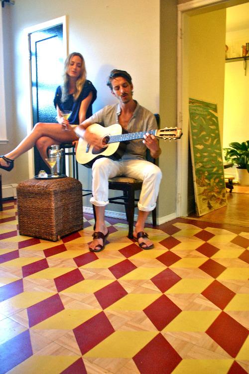 - M-Dashing - Mat's Hemingway-inspired DIY Flooring