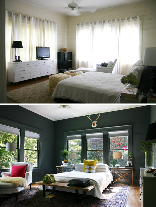 Our bedroom before and after ab chao - How much to furnish a 2 bedroom apartment ...