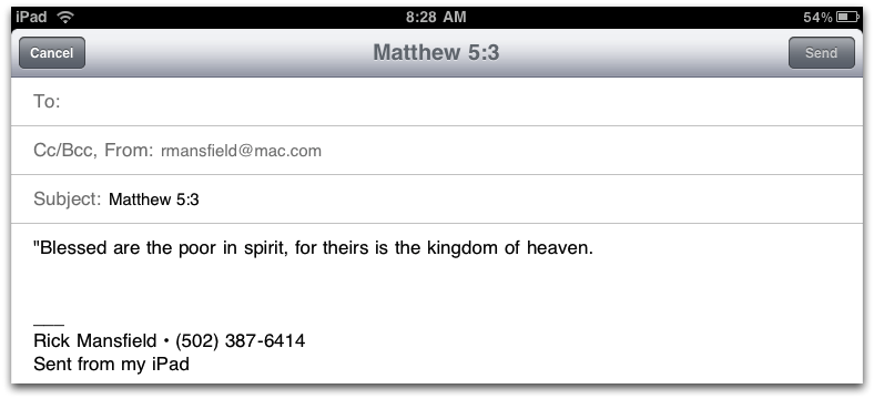 Review: Crossway's ESV Bible HD for iPad - Blog Posts - This