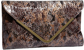 It can be used as a clutch or has a drop-in chain so can also be used as a  shoulder bag. 3f35942b2ec13