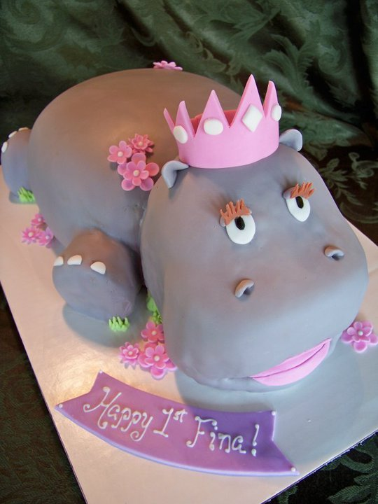 By Pastrygirl A Hippo
