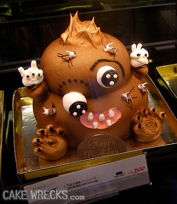 Cake Chocolate Doll Poop