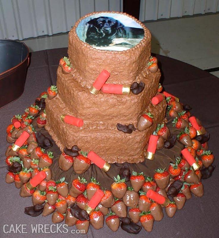 How To Make A Shotgun Birthday Cake