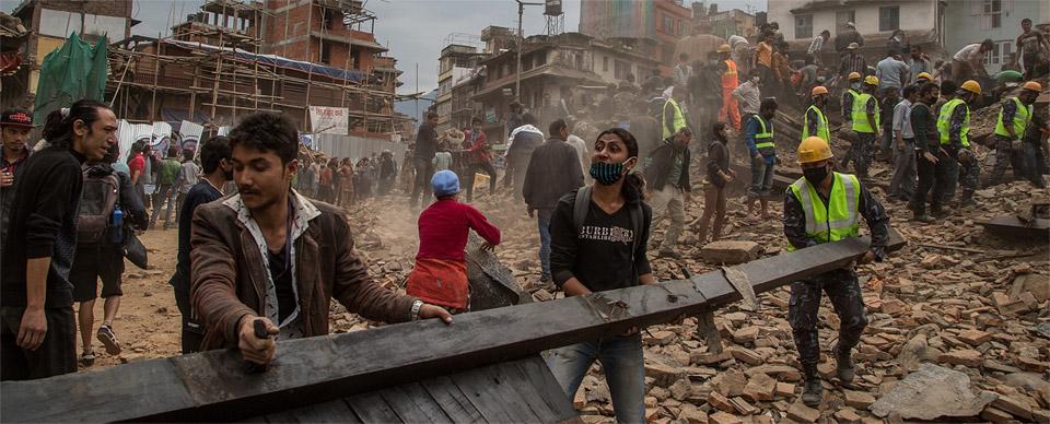 Deadly earthquake hits Nepal