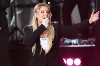 Meghan Trainor performs on the NBC Today Show